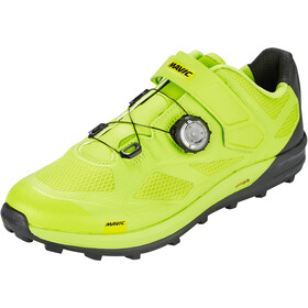 Mavic XA Pro Shoes Herre lime green/pirate black/safety yellow